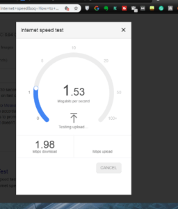 How to Check my Internet speed