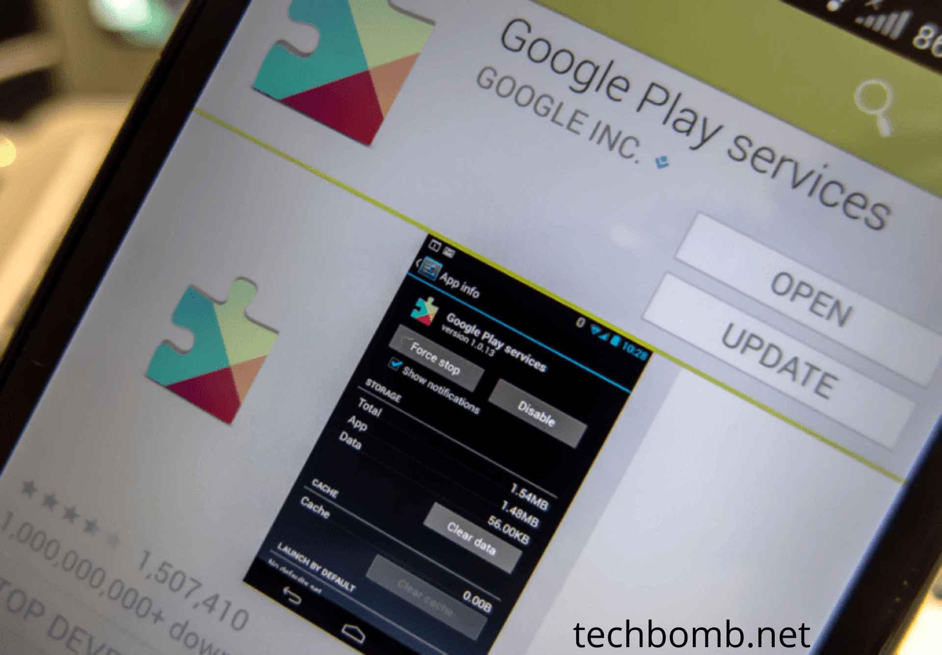 Google Play Services Error 2