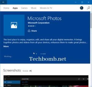 Disable Face Detection and Recognition in Photos App- Windows 10