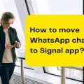 How to move WhatsApp chats to Signal app