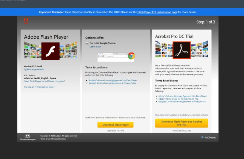 unblock adobe flash player on windows 7