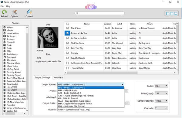 Converting Apple Music to MP3 format