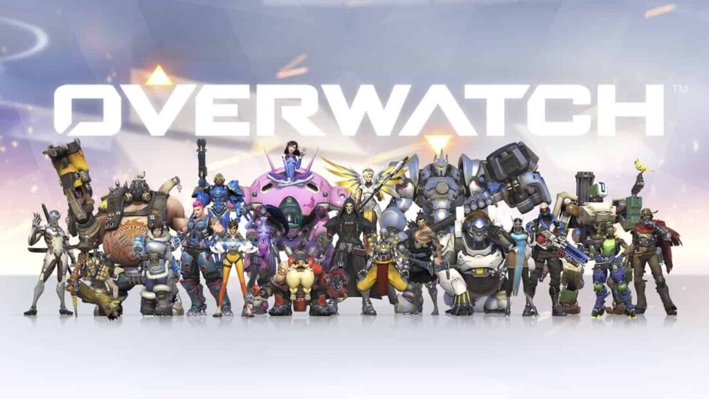 OverWatch (2015) is Best PC Games for 4GB RAM