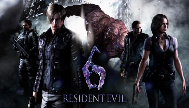 Resident Evil 6 Best PC Games under 4GB RAM