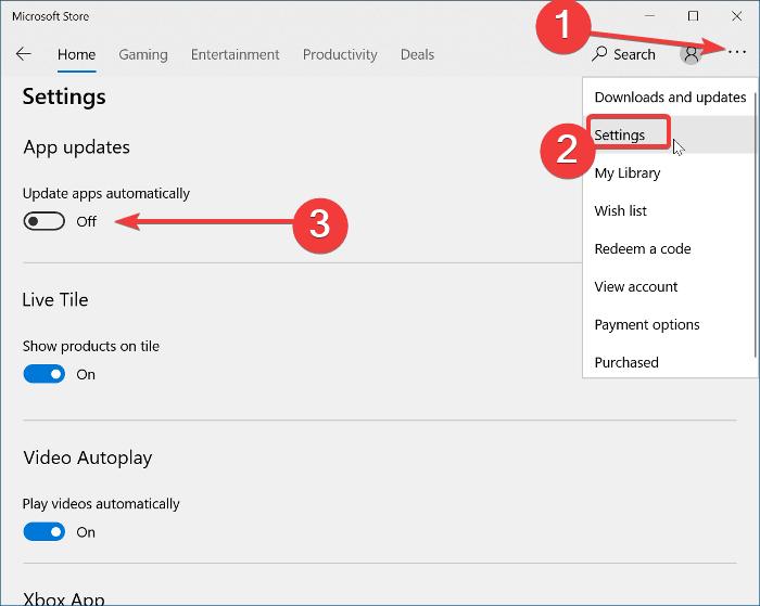 Prevent Automatic Updates