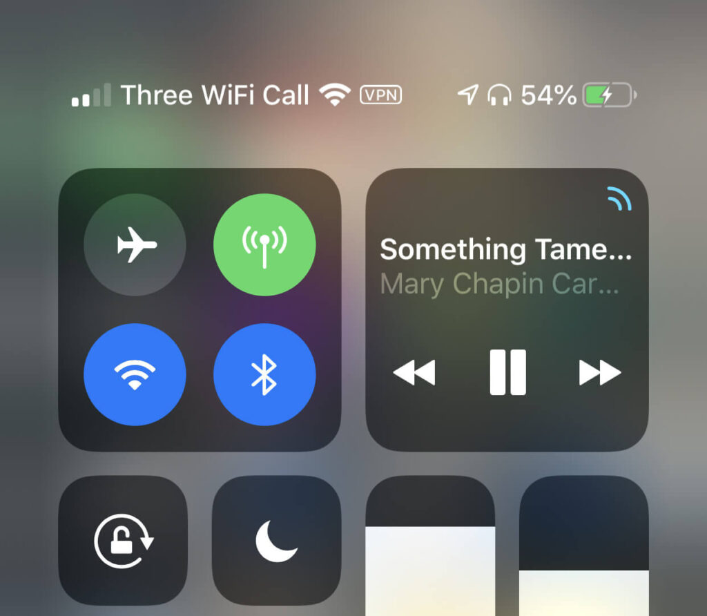 Disconnect the Wi-Fi, Wait, Connect!