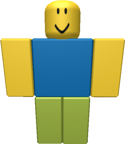 The appearance of Roblox Noob
