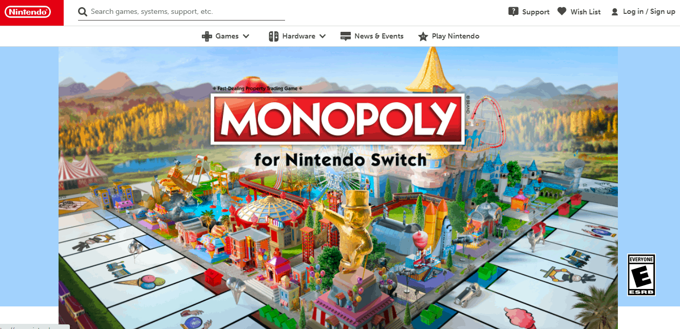 monoplay for nintndo switch