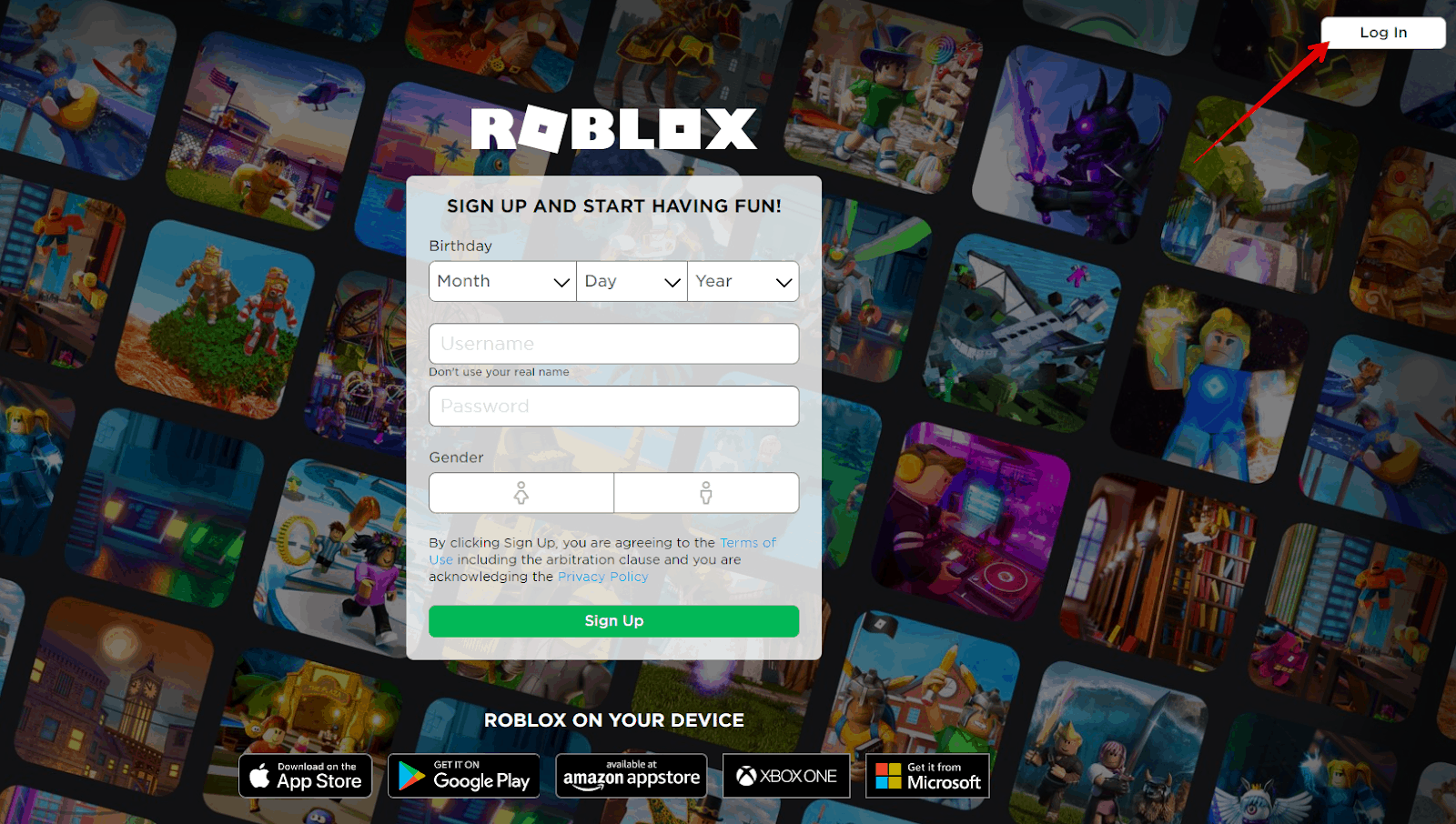 Contact Roblox support