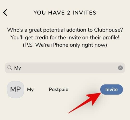 nominate a clubhouse account